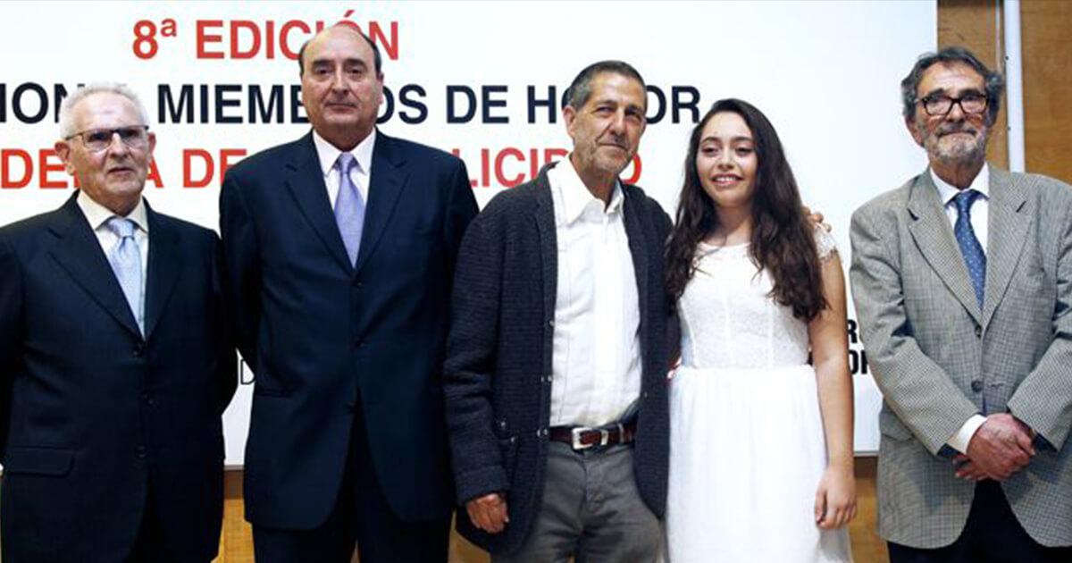 Cuatro nuevos Miembros de Honor en la Academia de la Publicidad- Carta a Juan Mariano Mancebo