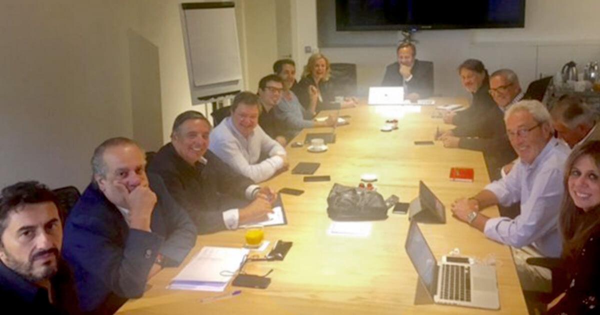 Primera reunión de la nueva Junta Directiva de la Academia de la Publicidad