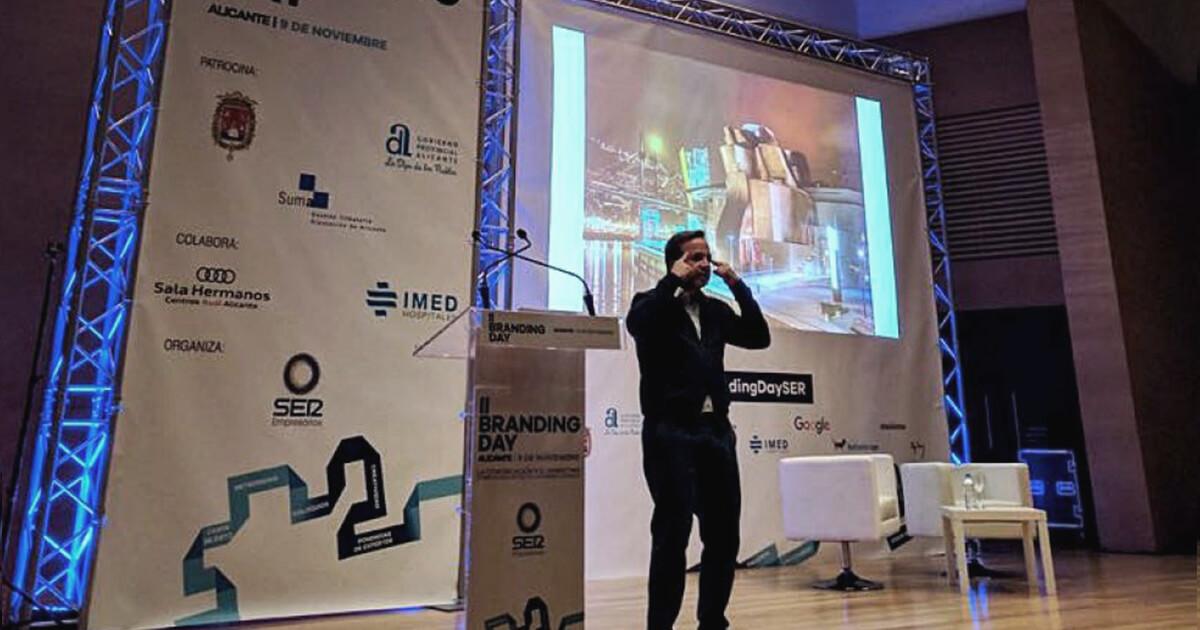 Nuestro presidente, Pablo Alzugaray, inauguró la II Edición del Branding Day Alicante